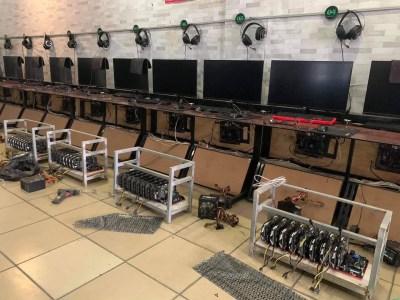 Новые реалии — владелец интернет-кафе во Вьетнаме переоборудовал его в майнинговую ферму, потому что сейчас это «прибыльнее»
