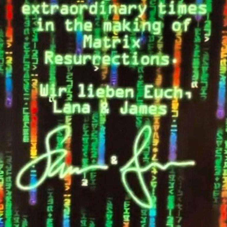 """Утечка: Четвертая """"Матрица"""" получит название Matrix Resurrections / """"Матрица: Воскрешения"""""""