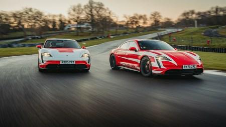 Электромобили Porsche Taycan 4S/Turbo S установили 13 рекордов Великобритании во время заезда на 1000 км [видео]