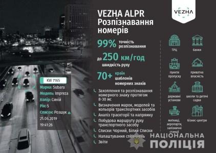 Вінницька поліція впровадила систему відеоспостереження «Vezha» на основі штучного інтелекту і нейронних мереж