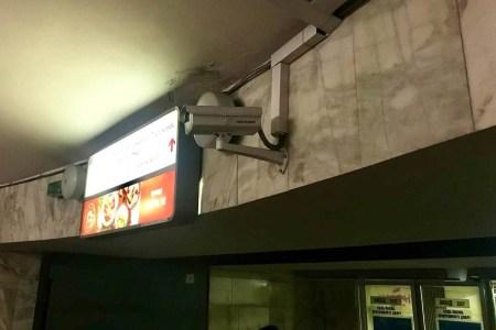 В київському метро встановлять 305 нових камер відеоспостереження (більше половини з них — з розпізнаванням облич та термальним скринінгом)