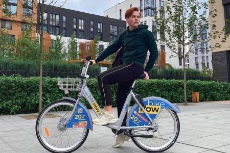 BikeNow відкрив новий сезон у Києві — разова поїздка коштує 20 гривень за пів години
