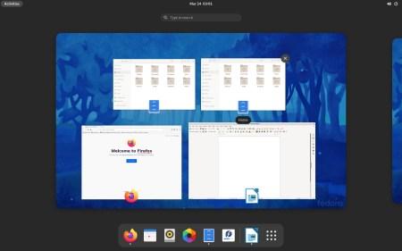 Вышла бета-версия Fedora 34 с GNOME 40 и сжатием в файловой системе BTRFS