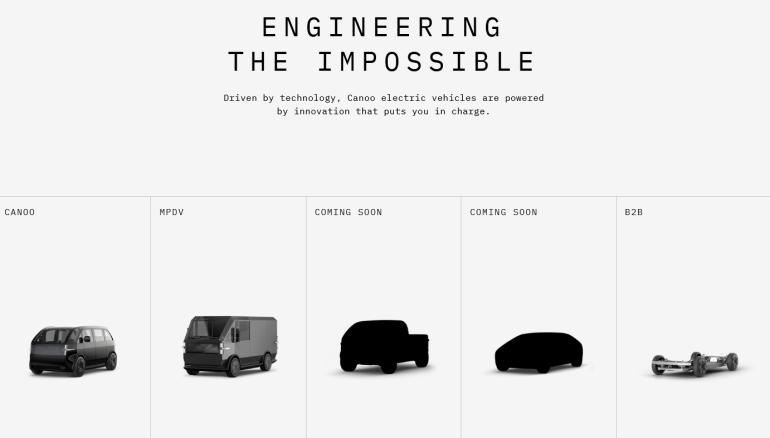Американский стартап Canoo представил футуристичный электрический пикап с уникальной функциональностью (предзаказы стартуют в 2021 году, поставки - в 2023)