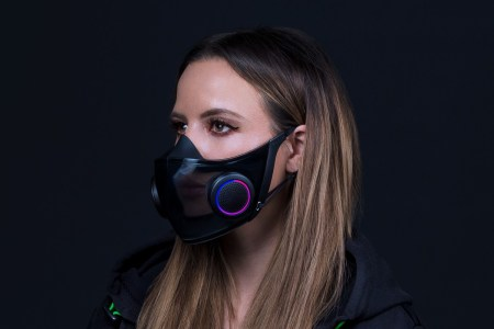 «Project Hazel станет реальностью». Razer займется выпуском многоразовых масок с RGB-подсветкой Chroma и усилителем голоса
