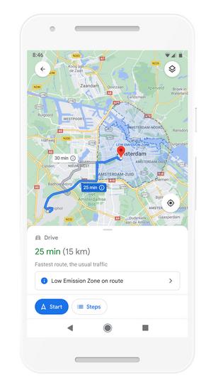Google анонсував велике оновлення Карт за допомогою штучного інтелекту — AR-навігація у приміщенні, еко-маршрути й новий інтерфейс напрямків