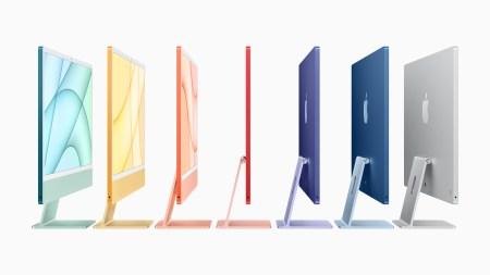 Apple представила 24-дюймовый iMac на процессоре M1 — в новом «плоском» дизайне с узкими рамками и шести ярких цветах