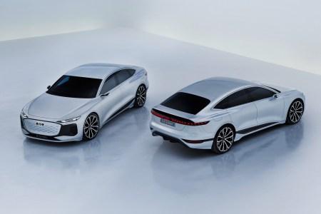 Audi представил концепт электромобиля A6 E-Tron concept на платформе PPE с мощностью 350 кВт, батареей 100 кВтч и запасом хода 700+ км
