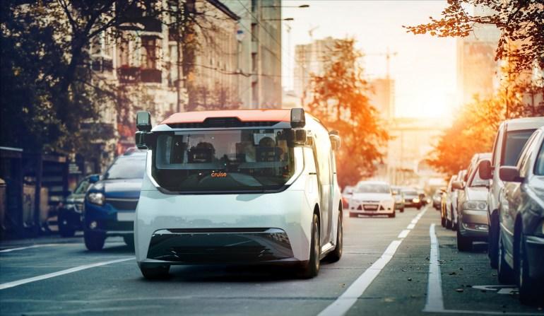 Дубай закупит 4000 электрических беспилотных шаттлов Cruise Origin для городской службы роботакси