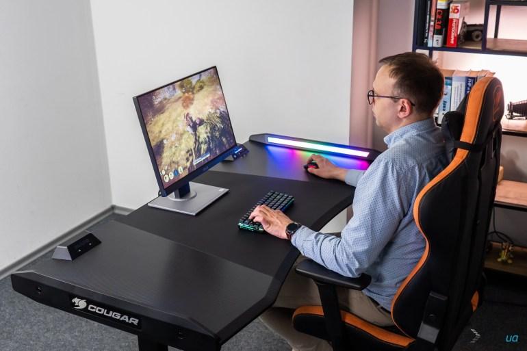 Обзор игрового стола Cougar MARS