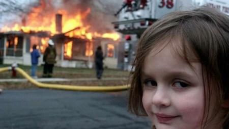Героиня мема «Девочка-катастрофа» (Disaster Girl) продала его в виде токена NFT за $430 тыс.