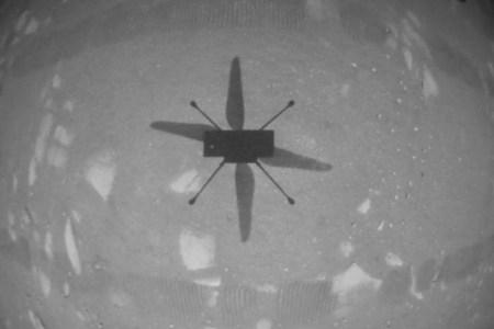 NASA показало полное видео первого полета дрона «Индженьюити» на Марсе