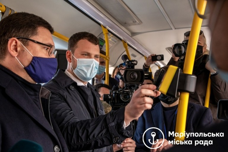 У Маріуполі запустили єдиний е-квиток муніципального транспорту SmartTicketCity, який дозволяє оплачувати проїзд одразу на всіх видах транспорту