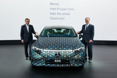 770 км (WLTP) / 108 кВтч: Немцы объявили официальный запас хода премиального электромобиля Mercedes-Benz EQS