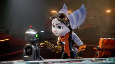 Геймплейный трейлер Ratchet & Clank: Rift Apart знакомит с новым персонажем по имени Ривет