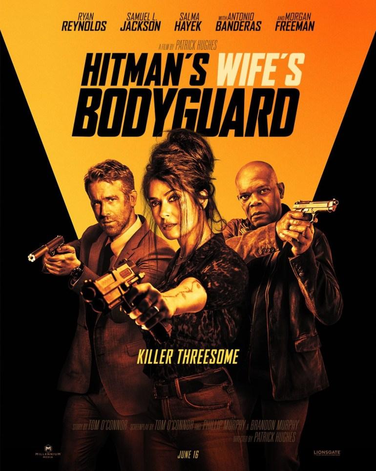 """Первый тизер-трейлер комедийного боевика """"Телохранитель жены киллера"""" / The Hitman's Wife's Bodyguard с Райаном Рейнольдсом и Сэмюэлом Л. Джексоном"""