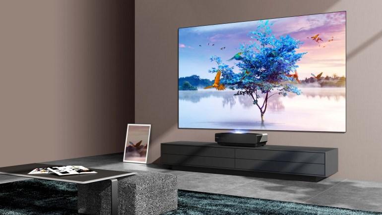 Hisense представляє лазерний телевізор нового покоління