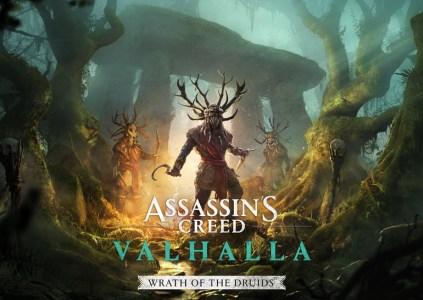Assassin's Creed Valhalla – Wrath of the Druids: те же плюс друиды