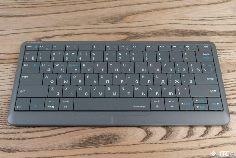 Обзор клавиатуры-тачпада Prestigio Click&Touch 2