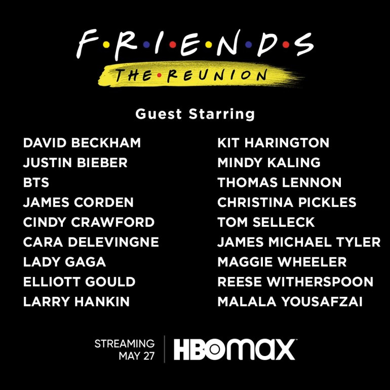 """HBO Max: Специальный эпизод """"Friends: The Reunion"""" сериала «Друзья» выйдет 27 мая 2021 года (тизер-трейлер)"""
