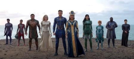 Вышел первый тизер-трейлер супергеройского боевика Eternals / «Вечные» от Marvel