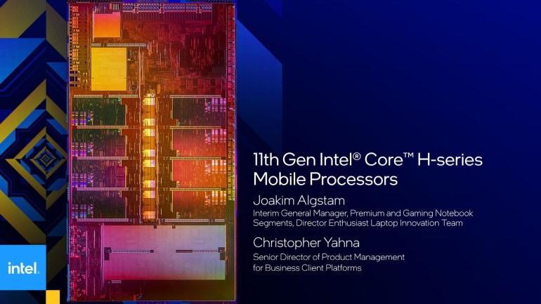 Intel анонсировала 6- и 8-ядерные процессоры Core 11-го поколения (Tiger Lake-H) для игровых ноутбуков