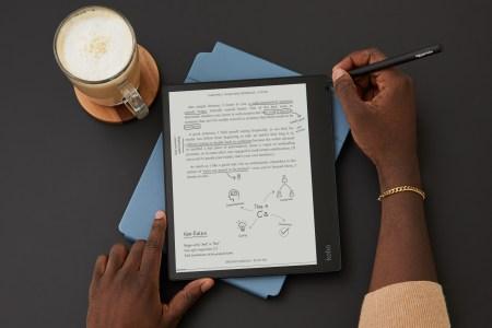 Анонсирован Kobo Elipsa — 10,3-дюймовый E-Ink ридер с подсветкой, стилусом для пометок и обложкой-подставкой по цене $400 за комплект