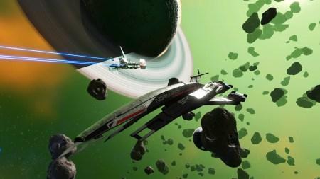 В No Man's Sky до конца месяца можно получить звездолёт Normandy SR-1 из Mass Effect