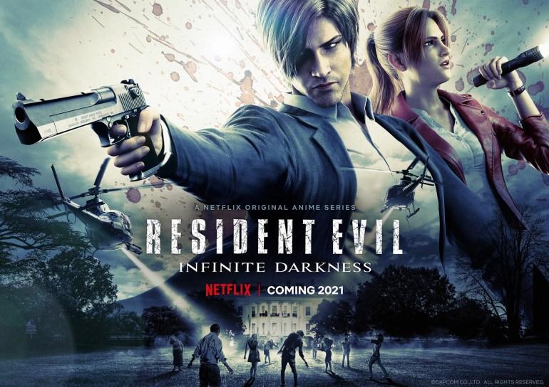 """Аниме-сериал Resident Evil: Infinite Darkness / """"Обитель Зла: бесконечная тьма"""" выйдет на Netflix 8 июля 2021 года [новый трейлер]"""