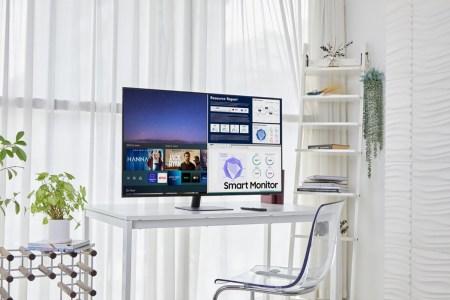 Samsung анонсировала две новые модели Smart Monitor – с самым маленьким и самым крупным дисплеями в линейке