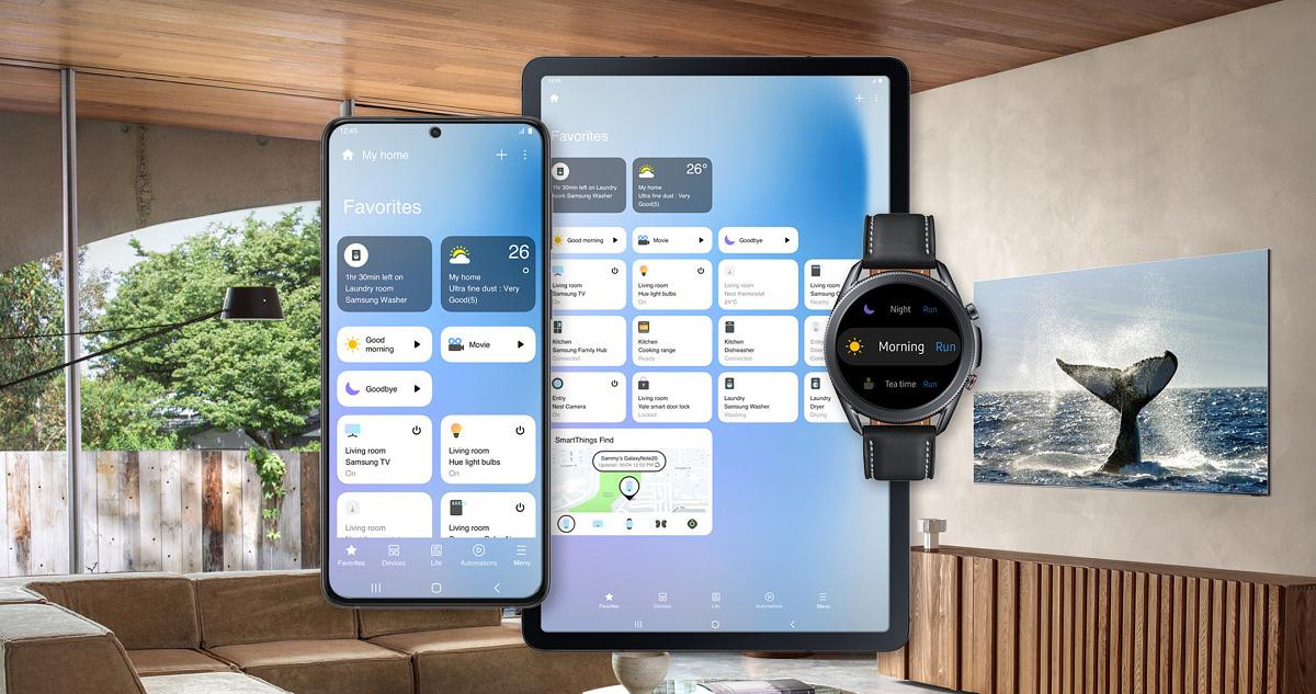 Samsung обновила интерфейс приложения SmartThings для управления умным домом - ITC.ua