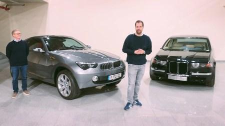 BMW показал необычные концепты прошлых лет, включая предвестника кросс-купе под именем BMW ICE и седьмую серию с огромными «ноздрями» [видео]