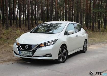 Nissan в Украине 2021: тест-драйв Nissan LEAF «официала» и не только…