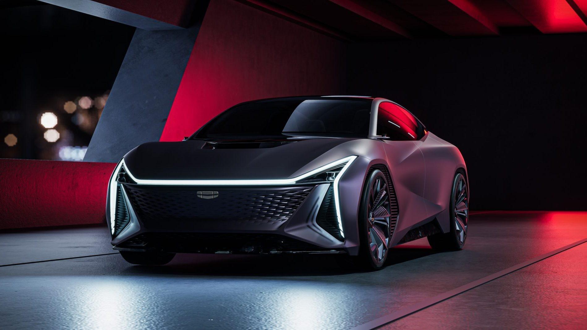 Фотогалерея: Китайцы представили концепт электромобиля Geely Vision St