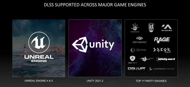 NVIDIA объявила точные сроки внедрения DLSS в новых играх, движках Unreal Engine 5 и Unity, а также на Linux через Proton