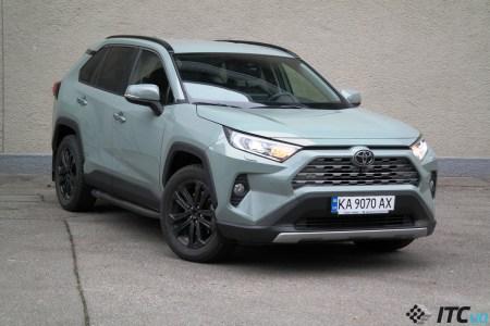 У травні українці придбали 8,5 тис. нових легкових автомобілів, лідер ринку — Toyota RAV4