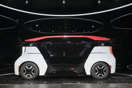 Cruise объявила о начале предсерийного производства автономных электрических шаттлов Origin без руля и педалей