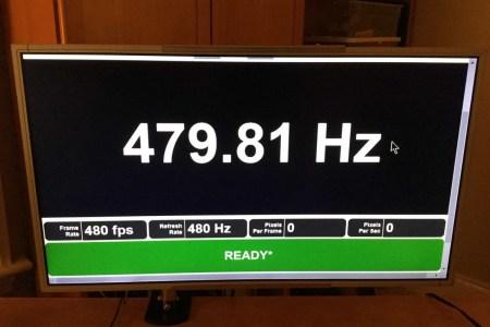 СМИ: LG Display и AU Optronics готовят к выходу панели с частотой 480 Гц
