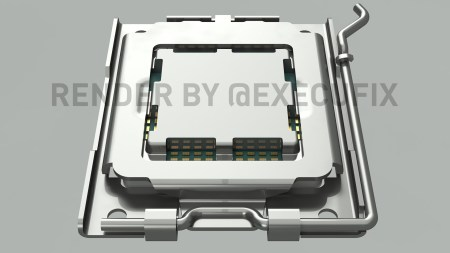 Инсайдеры показали, как будет выглядеть сокет AMD AM5 для процессора Ryzen Zen4 (Raphael)