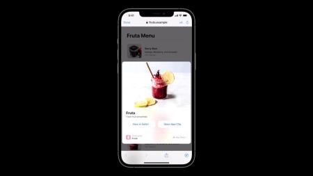 Разработчики смогут интегрировать App Clips в веб-сайты в виде полноэкранных карточек в iOS 15