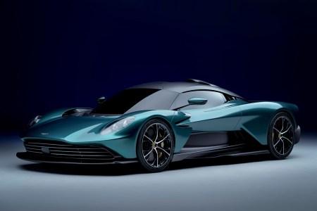 Суперкар Aston Martin Valhalla оборудовали 937-сильной гибридной установкой