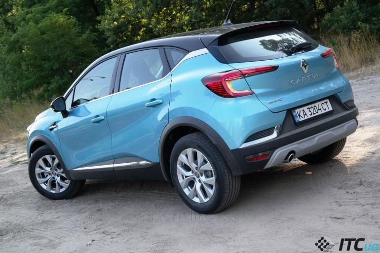 Первый взгляд на Renault Captur New: турбо-бензин, 10 цветов кузова, от 553,9 тыс. грн