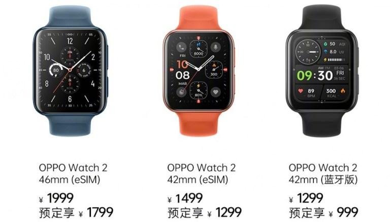 Oppo презентовал смарт-часы Watch 2 с чипом Snapdragon Wear 4100