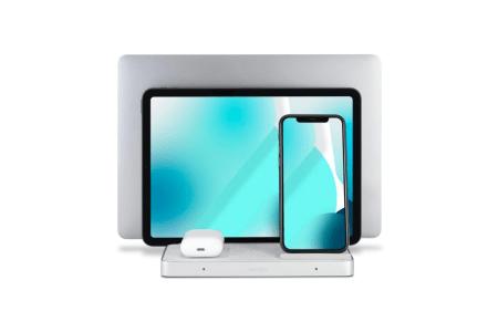 Kensington показала модульную зарядку StudioCaddy для устройств Apple