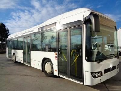 В Києві з'явилися перші гібридні маршрутки Volvo 7700 Hybrid (це 10-річні екземпляри з Люксембургу), вони курсують по маршруту №150