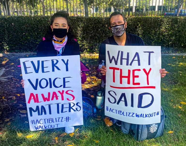 Сотрудники Activision Blizzard вышли на митинг протеста против сексуальных домогательств и дискриминации