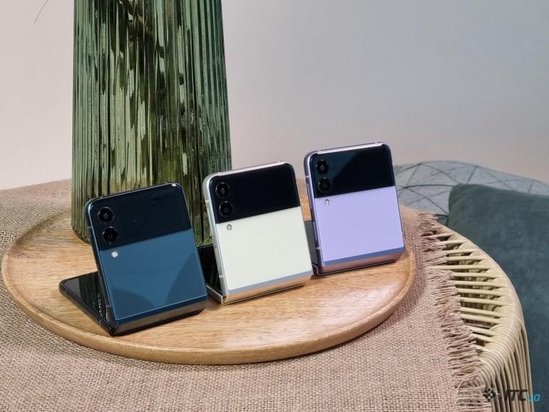Первый взгляд на Galaxy Z Flip3