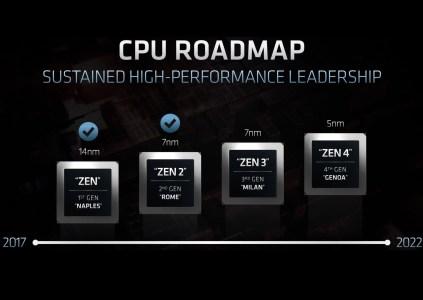 Процессоры AMD EPYC Genoa (Zen4) получат до 96 вычислительных ядер и поддержку 12-канальной памяти DDR5