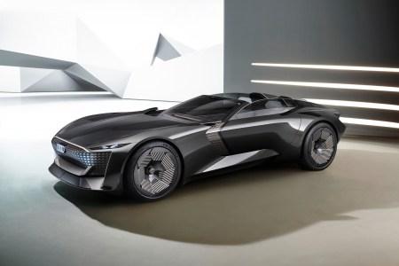 Audi skysphere — концепт электрического родстера, который умеет трансформироваться из беспилотного GT в драйверский спорткар