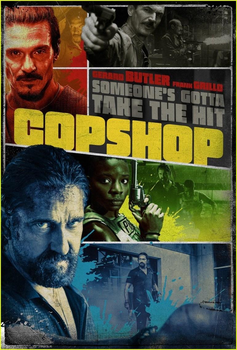 """Перший трейлер комедійного бойовика Copshop / """"Хороший, поганий, коп"""" з Джерардом Батлером та Френком Ґрілло (прем'єра - 11 листопада 2021 року)"""